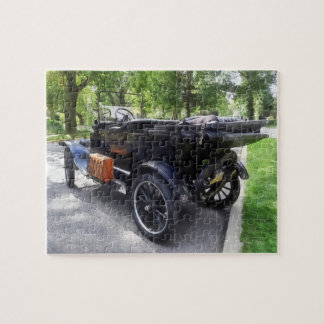 Model T With Luggage Rack' Jigsaw Puzzle