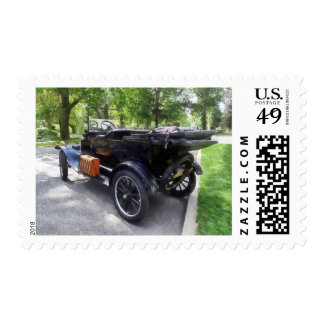 Model T With Luggage Rack' Postage Stamps