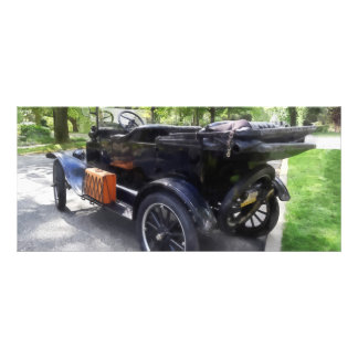 Model T With Luggage Rack' Rack Card