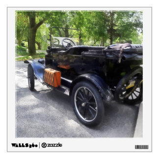 Model T With Luggage Rack' Wall Sticker