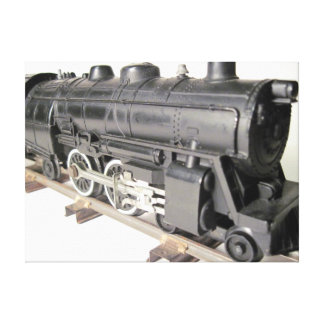 Model Train Canvas Stretched Canvas Print