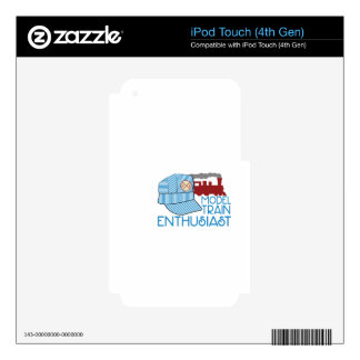 Model Train Enthusiast iPod Touch 4G Decal