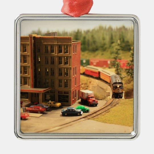 Model Train Ornament