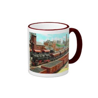 Model Train Station Mug