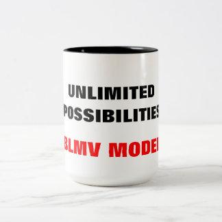 Model Two-Tone Coffee Mug