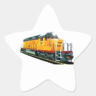 Model U.P. Diesel Locomotive Sticker
