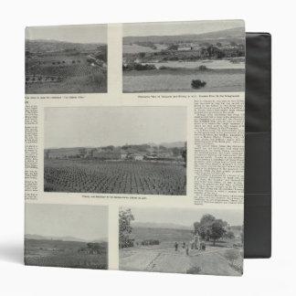 Model Vineyards, California 3 Ring Binders