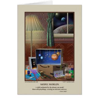 Model Worlds Card