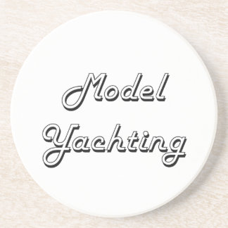 Model Yachting Classic Retro Design Beverage Coaster