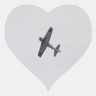 Model Zero Heart Sticker