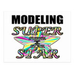 Modelado de la superestrella tarjeta postal