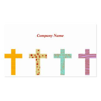 Modelado nombre de Crosses, Company Tarjetas De Visita