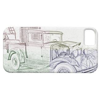 Modele un camión iPhone 5 carcasa