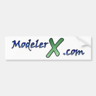 ModelerX.com Logo Sticker