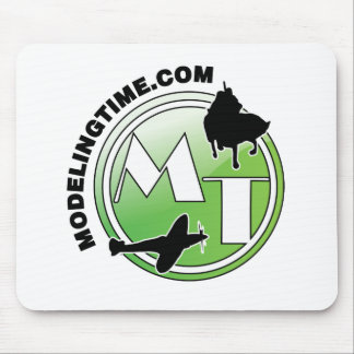 modelingtime green  verde glossy mouse pad