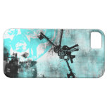 Modelo 104 del Grunge iPhone 5 Protectores