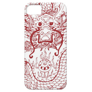 Modelo 15 del dragón iPhone 5 carcasas