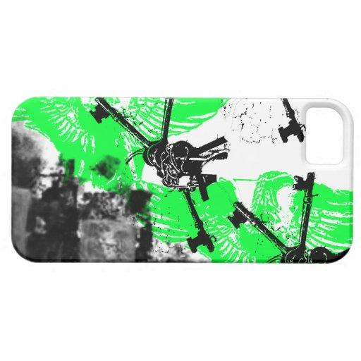 Modelo 167 del Grunge iPhone 5 Case-Mate Carcasa