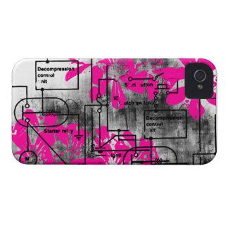 Modelo 171 del Grunge Case-Mate iPhone 4 Carcasas