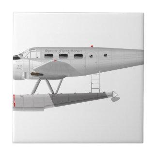 Modelo 18 de la haya en los flotadores azulejo cuadrado pequeño