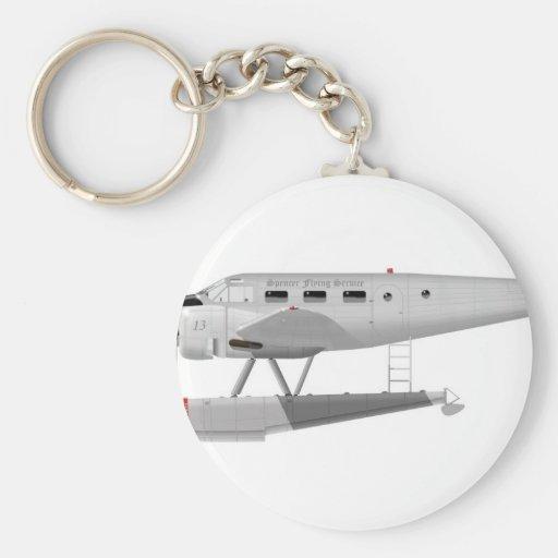 Modelo 18 de la haya en los flotadores llavero