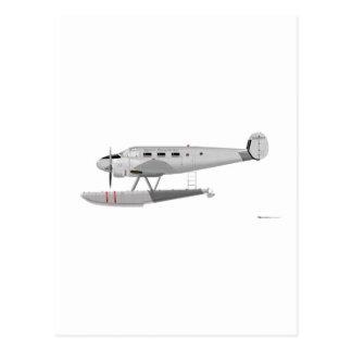 Modelo 18 de la haya en los flotadores tarjetas postales