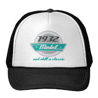 Modelo 1932 y aún una obra clásica gorro