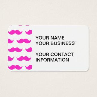 Modelo 1 del bigote de las rosas fuertes y del tarjeta de negocios