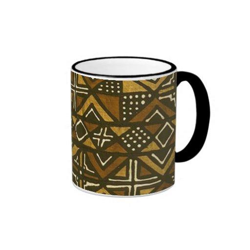Modelo #1 del paño del fango del Kenyan Taza De Café