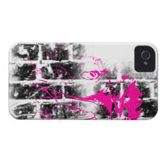 Modelo 217 del Grunge iPhone 4 Case-Mate Carcasa