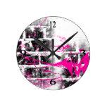 Modelo 217 del Grunge Reloj De Pared
