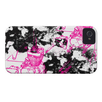 Modelo 219 del Grunge Case-Mate iPhone 4 Carcasa
