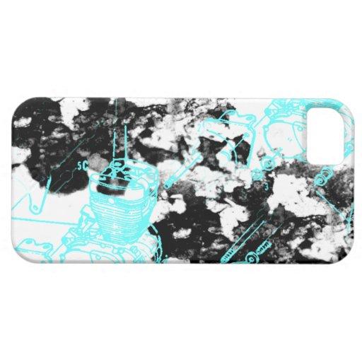 Modelo 222 del Grunge iPhone 5 Case-Mate Cárcasa