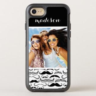 Modelo 2 de la foto y del bigote del nombre funda OtterBox symmetry para iPhone 7