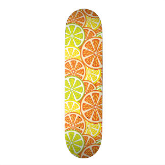 Modelo 2 de la fruta cítrica skateboard
