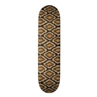 Modelo 2 de la piel de serpiente del pitón patines personalizados