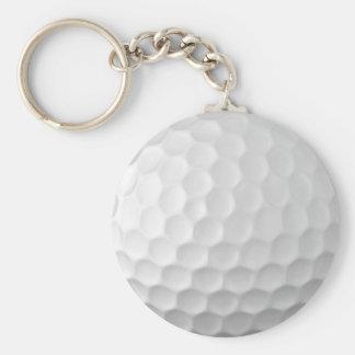 Modelo 2 de la textura de los hoyuelos de la pelot llavero redondo tipo pin