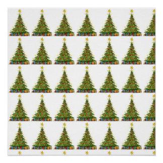 Modelo 2 del árbol de navidad perfect poster