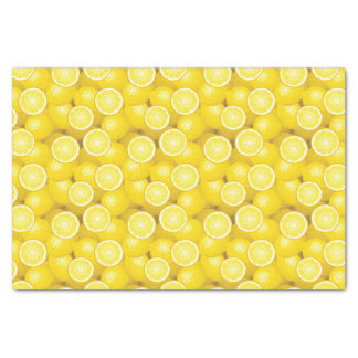Modelo 2 del limón papel de seda