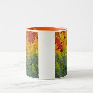 Modelo 2 del otoño taza