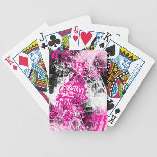 Modelo 34 del Grunge Baraja Cartas De Poker