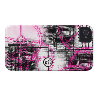 Modelo 36 del Grunge Case-Mate iPhone 4 Protector