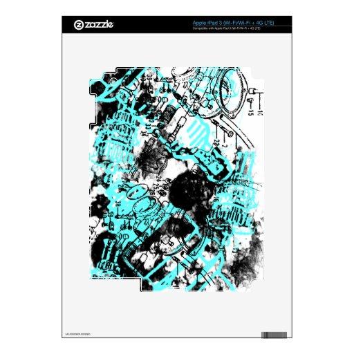 Modelo 37 del Grunge iPad 3 Skins