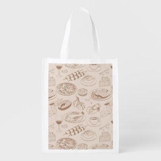 Modelo 3 de la comida bolsa reutilizable