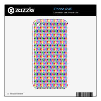 Modelo 3 iPhone 4S calcomanías