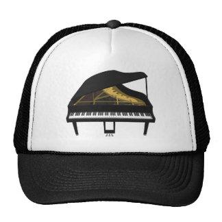 modelo 3D: Piano de cola negro: Gorro De Camionero