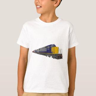 modelo 3D: Tren de carga: Ferrocarril: Playera