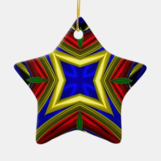 Modelo 470 adorno de cerámica en forma de estrella