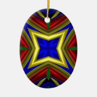 Modelo 470 adorno ovalado de cerámica