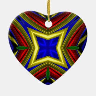 Modelo 470 adorno de cerámica en forma de corazón